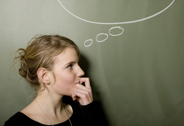 girl thinking idea chalkboard stock 620x427 Baza zove rov, prijem!