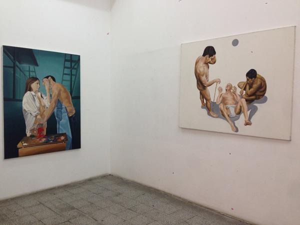 Prva samostalna izložba Đorđa Lukovića