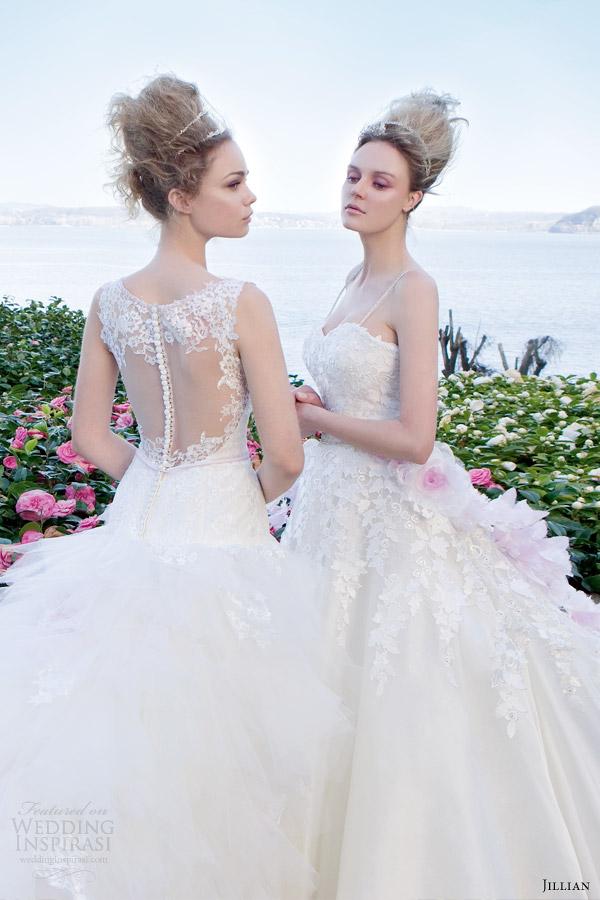 jillian bridal 2014 wedding dresses azalea collection Wannabe Bride: Jillian   Romantika na dohvat ruke