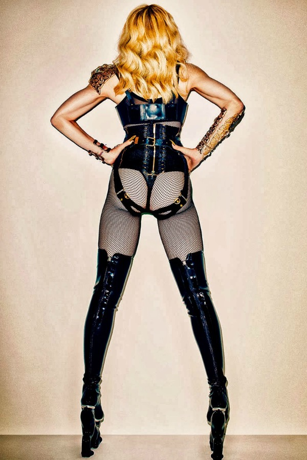 madonna by terry richardson for harpers bazaar november 2013 2 Harper's Bazaar US: Madonna kao seksi ratnica