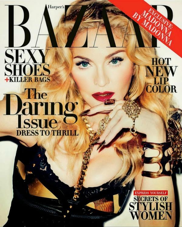 madonna by terry richardson for harpers bazaar november 2013 5 Harper's Bazaar US: Madonna kao seksi ratnica