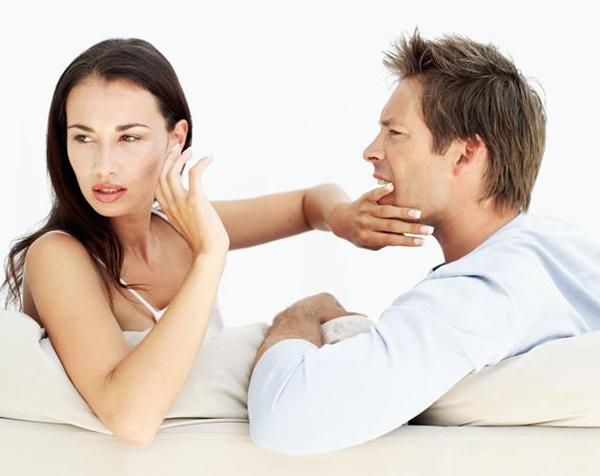 man and woman arguing Dati il prodati?