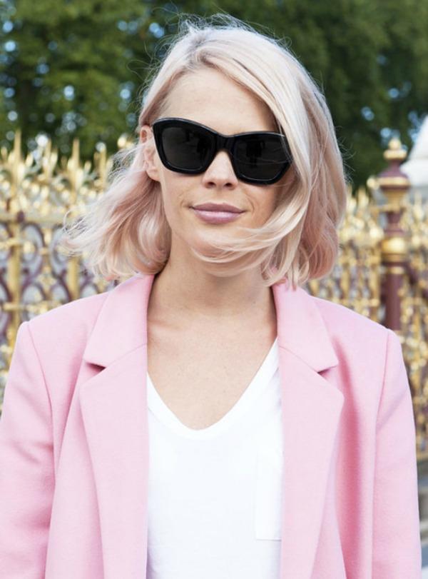 roze karmin Beauty Street Style: Jesenji trendovi