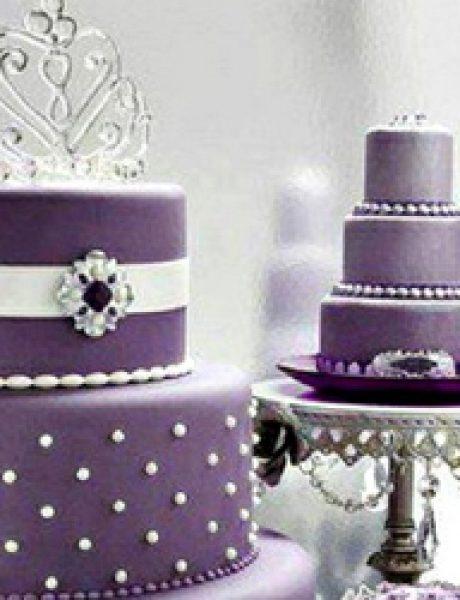 Wannabe Bride: Torta za vaše venčanje u kraljevskoj boji i stilu