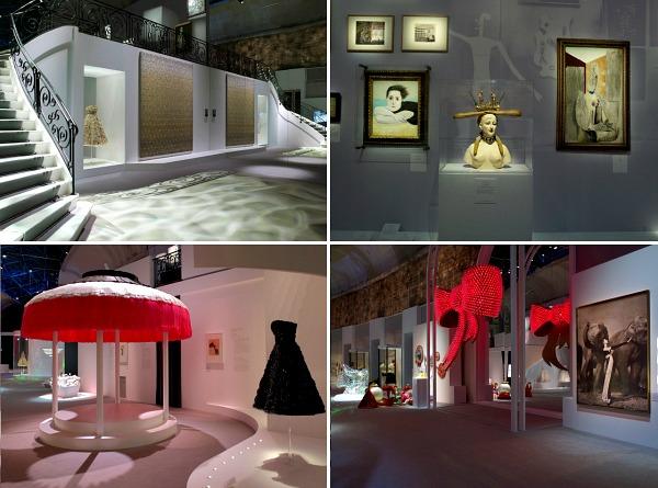 01 Izlozba Miss Dior enterijer Izložba u Parizu posvećena parfemu Miss Dior