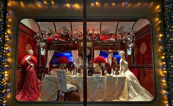 05 Harrods izlog4 Veličanstveni Harrods izlozi u novogodišnjem i božičnom stilu