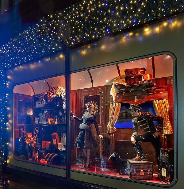 08 Harrods izlog7 Veličanstveni Harrods izlozi u novogodišnjem i božičnom stilu