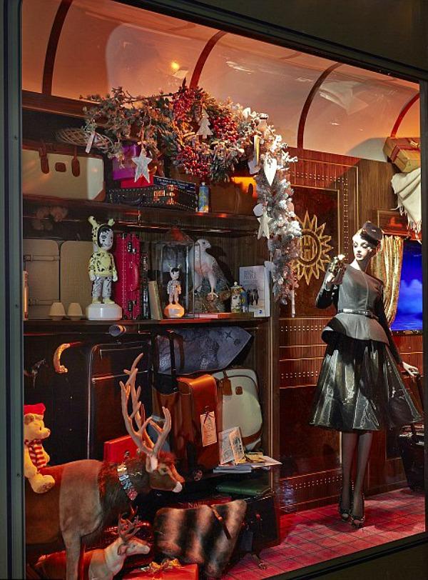 09 Harrods izlog8 Veličanstveni Harrods izlozi u novogodišnjem i božičnom stilu