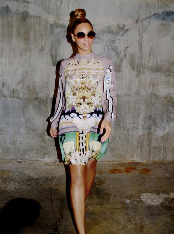 2013 MYKITA Celeb Beyonce Knowles 761x1024 10 odevnih kombinacija: Beyoncé Knowles