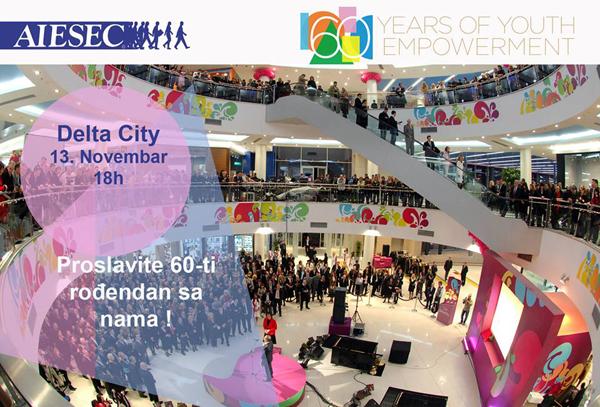 AIESEC: Slavimo 60 godina postojanja u Srbiji!