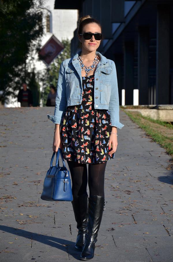 ANA 0715 Šta domaće modne blogerke nose ovih dana: Teksas i crna