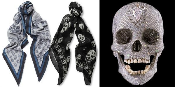 Alexander McQueen Damien Hirst marame Najbolje modne saradnje