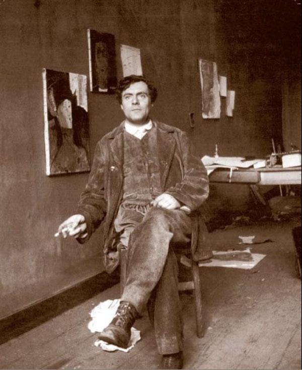 Amadeo Modiljani foto Paul Guillaume Pariz1915 Divlja Anna Akhmatova od hiljadu ljubavi i nežni Amedeo Modigliani, jedini na svetu (1. deo)