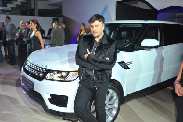 Bata Spasojevic Otvoren ekskluzivni Land Rover i Jaguar salon u Beogradu
