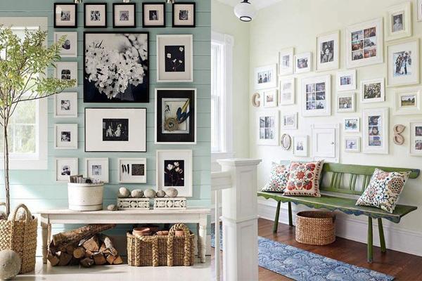 Crni ramovi i beli ramovi Neodoljivi ukras vašeg doma: Fotografije