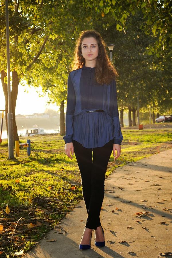 DSC 1184crno plava kombinacija love style magic Šta domaće modne blogerke nose ovih dana: Teksas i crna