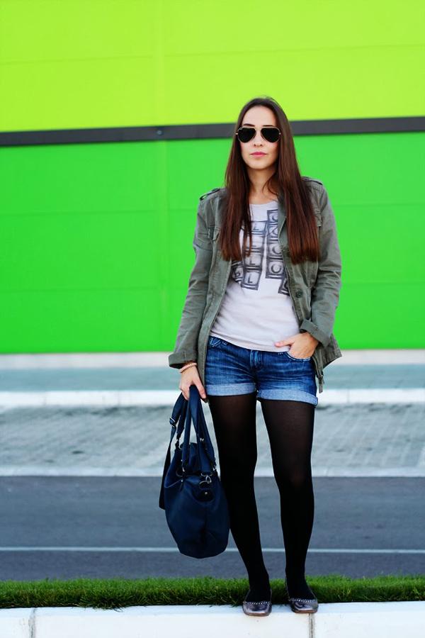 Going green Cipelica Stiklica 3 Šta domaće modne blogerke nose ovih dana: Teksas i crna