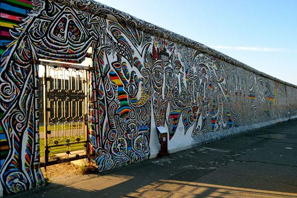 Grafiti na zidu Deset najčudesnijih zidova na svetu