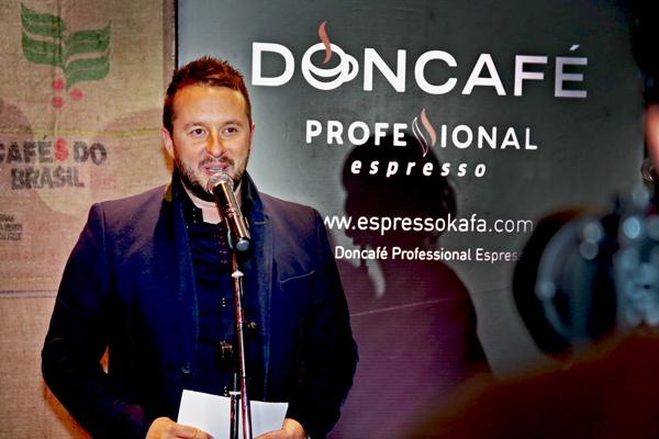 Ivan Ivanovic Novi doživljaj Doncafé professional espressa