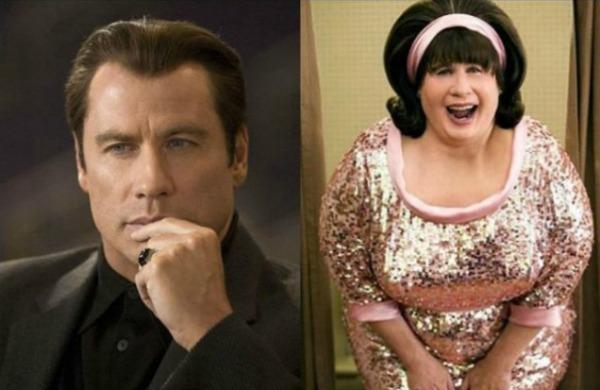 John Travolta Moć filmskih kostima i šminke