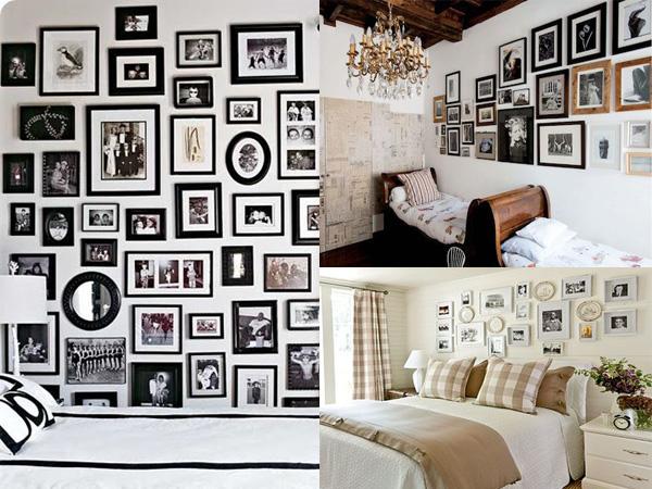 Kolazi iznad kreveta Neodoljivi ukras vašeg doma: Fotografije