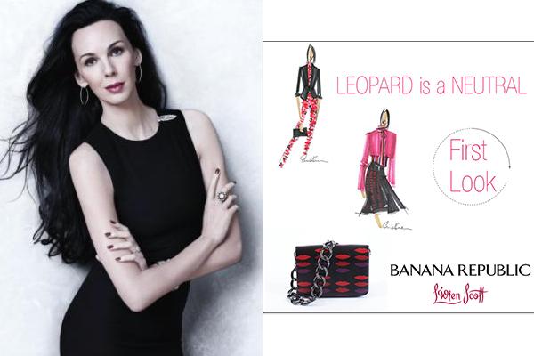 Lwren Banana republic Najbolje modne saradnje