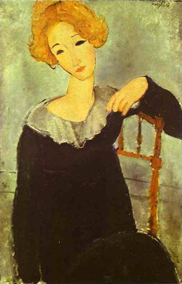 Modiljani Zena s crvenom kosom Nina Hamnet 1917 Modiljani je prilazio ženama bez zadrške, spontano, širokog osmeha i osvajao u trenu (3. deo)