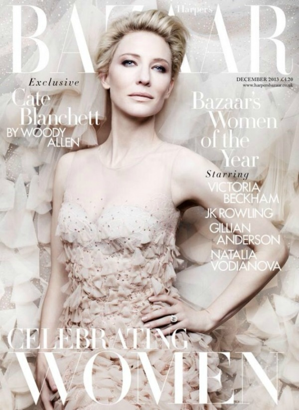 """Modni zalogaj Cate Blanchett za   Harpers Bazaar   Modni zalogaj: Cate Blanchett za """"Harper's Bazaar"""""""
