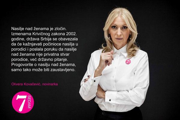 "Olivera Kovačević Drama ""Sedam"" u Novom Sadu, Novom Pazaru i Nišu"