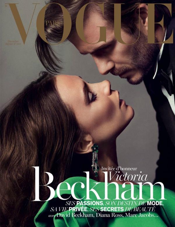 Ovo izdanje časopisa  Vogue  na kioske dolazi 2. decembra Modni zalogaj: Savršeni par Beckham za Vogue