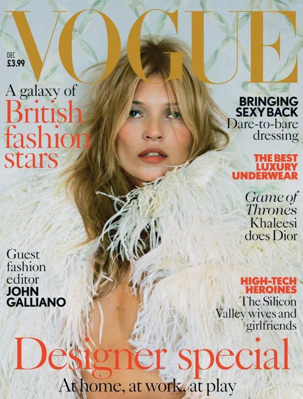 """Ovo je Kejtina 34. naslovna strana za """"Vogue"""" Modni zalogaj: Kate Moss za decembarski """"Vogue UK"""""""