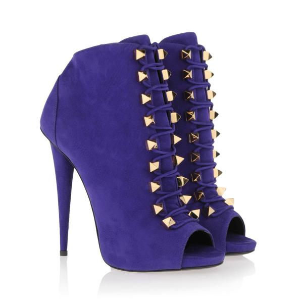Plave Guiseppe Zanotti: Popularne kratke čizme