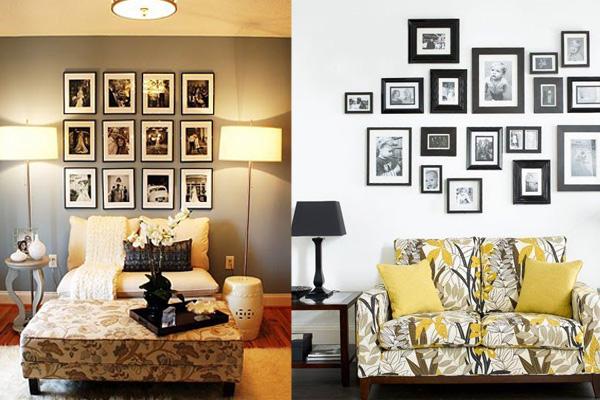 Ramovi iznad dvoseda Neodoljivi ukras vašeg doma: Fotografije