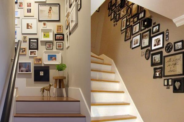 Slike iznad stepenista Neodoljivi ukras vašeg doma: Fotografije