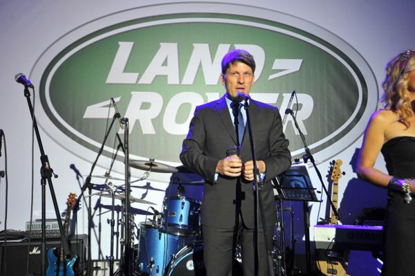 Stanko Radic Generalni direktor Grand Motors  Otvoren ekskluzivni Land Rover i Jaguar salon u Beogradu