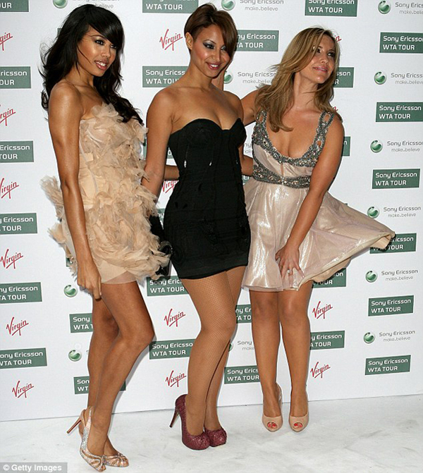 Suga Babes in Pre Wimbledon Party Poznate dame i Marilyn Monroe trenutak