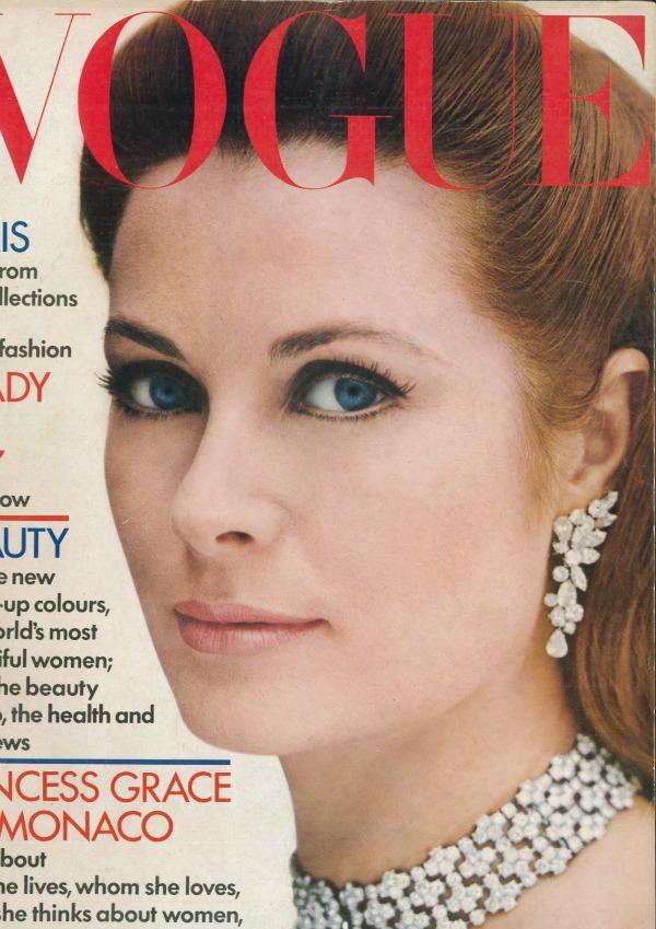 """Urodjeni glamur Grejs Keli  Tri gracije i """"Vogue"""""""