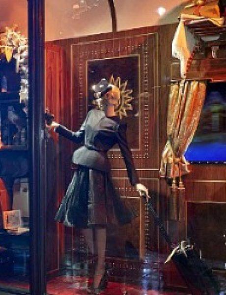 Veličanstveni Harrods izlozi u novogodišnjem i božičnom stilu