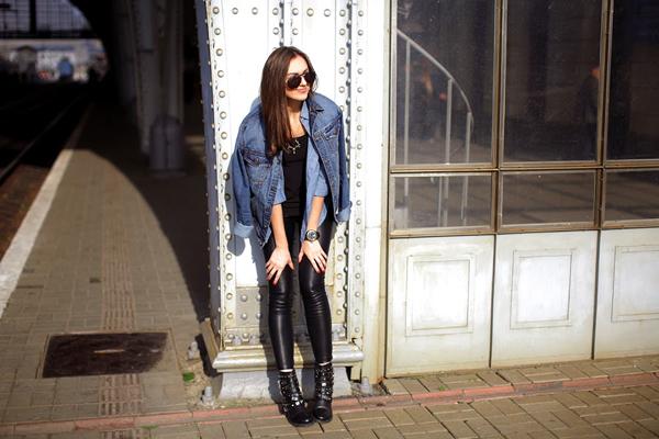 asos aberdeen boots outfit shar 10 odevnih kombinacija: Nika Huk