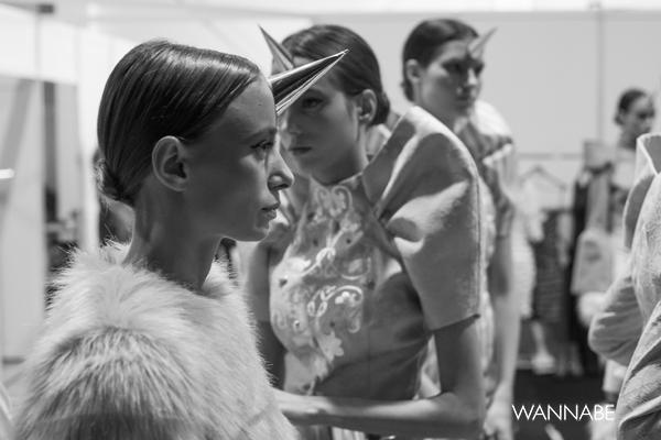 backstage 14 Backstage 34. Perwoll Fashion Week (3. deo)