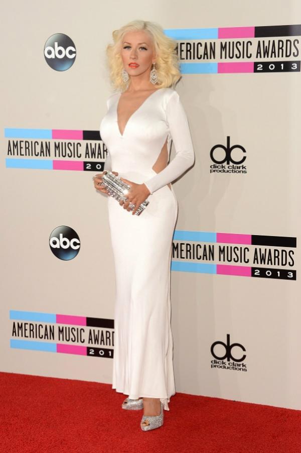 christina aguilera Fashion Police: American Music Awards 2013.