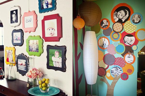 fotke dece u sarenim ramovima Neodoljivi ukras vašeg doma: Fotografije
