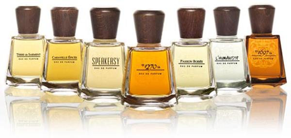 frapin kolekcija Konjak i parfemi