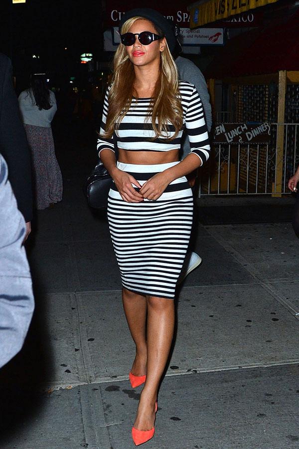 hbz best dressed 061413 Beyonce Knowles xln 10 odevnih kombinacija: Beyoncé Knowles