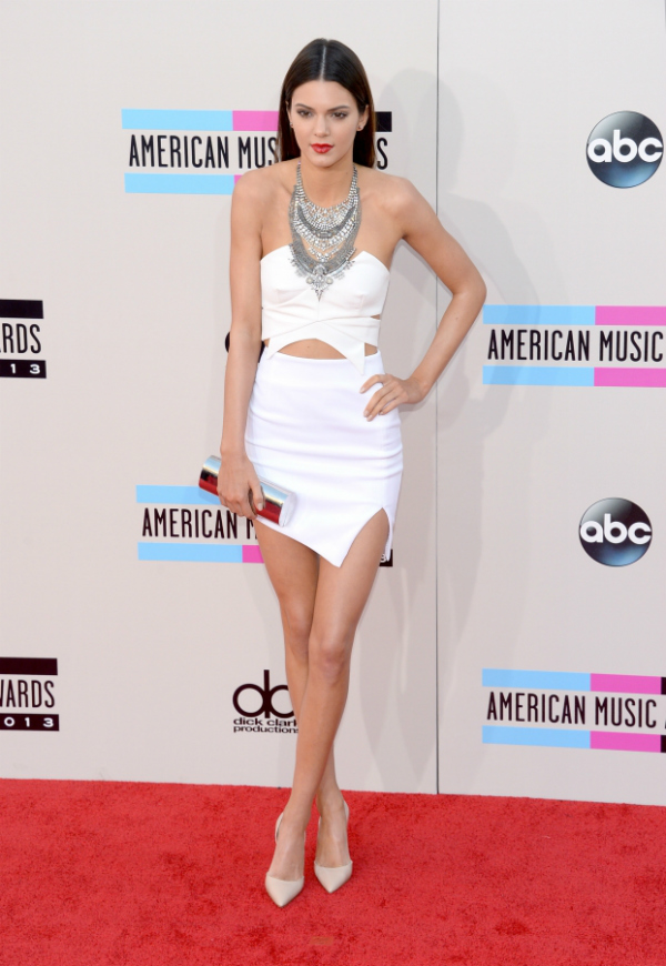 kendall jenner Fashion Police: American Music Awards 2013.