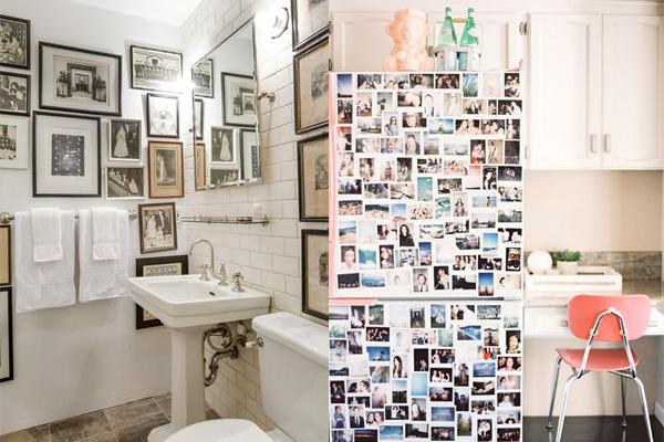 kolaz u kupatilu i kuhinji Neodoljivi ukras vašeg doma: Fotografije