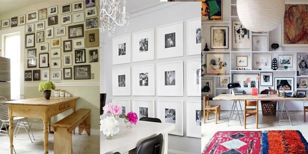 kolazi u trpezarijama Neodoljivi ukras vašeg doma: Fotografije