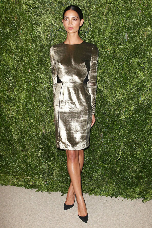 lily aldridge vogue 12nov13 rex b 592x888 Fashion Police: Vogue Fashion Fund Awards