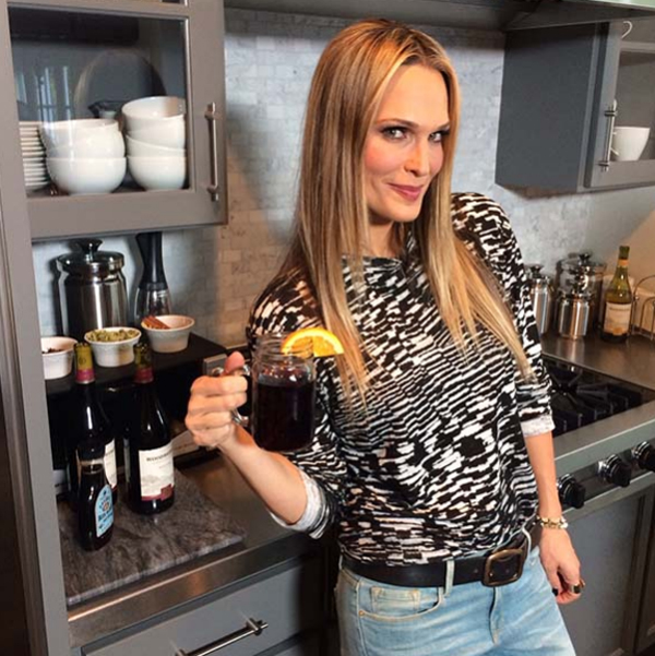 moli Molly Sims: Model i bloger