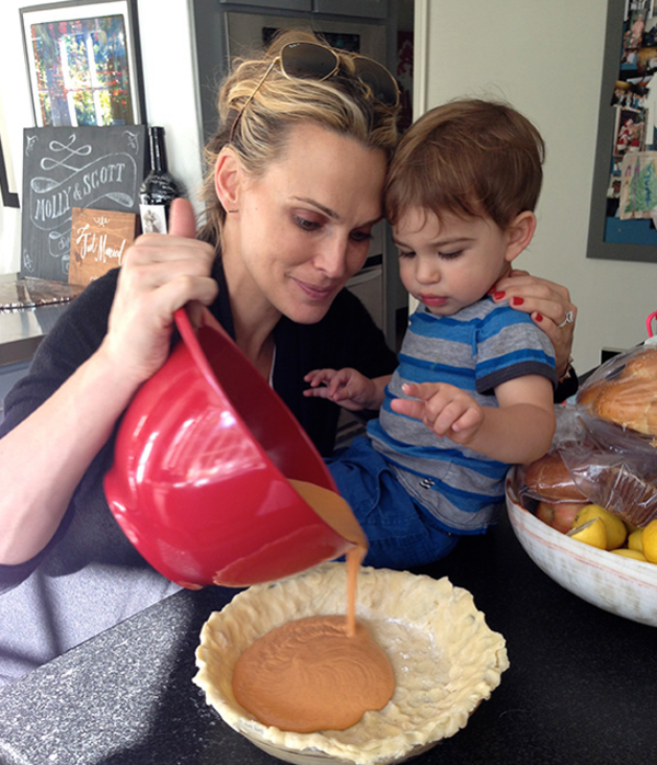 moli2 Molly Sims: Model i bloger